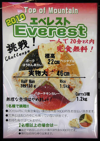 20100124ラマ 特大セット:エベレスト