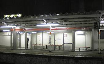 20081217都立家政駅上りホーム