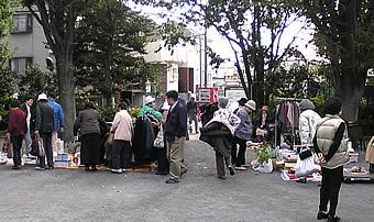 20071107 さぎのみや 若宮 妙正寺川 フリーマーケット 双鷺公園