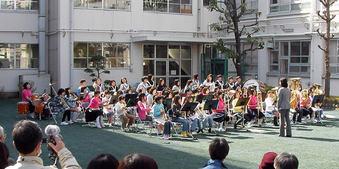 20100314 中野区立第八中学校 中野八中 吹奏楽部 金管バンド 若宮小学校 鷺宮小学校