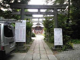 20090613鷺宮八幡神社 茅の輪01