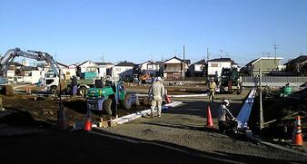 20100116上鷺宮 ユニオンマンション跡地