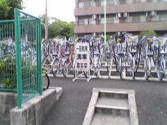 駐輪場、または撤去自転車預かり所