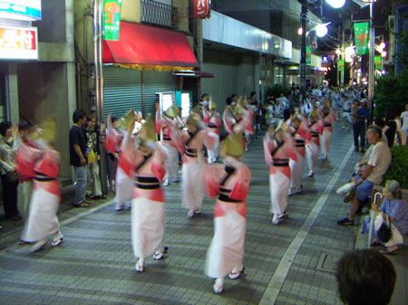 2005年かせい阿波踊り