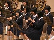 写真はどうやら北中野中学校吹奏楽部のメンバー