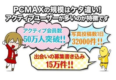 PCMAX アクティブ人数