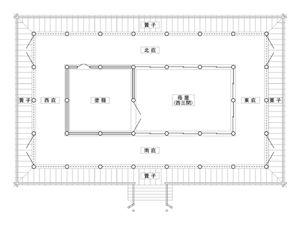 源氏物語平面図(家具なし)(300P)