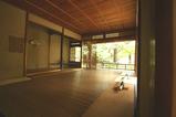 白沙村荘 茶室内部