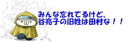 みんな忘れてるけど、谷亮子の旧姓は田村な!!