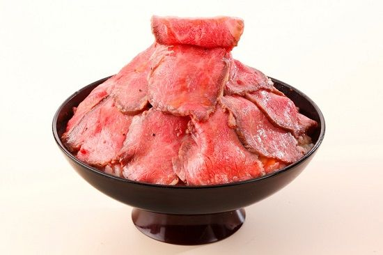 柿安 ローストビーフ丼
