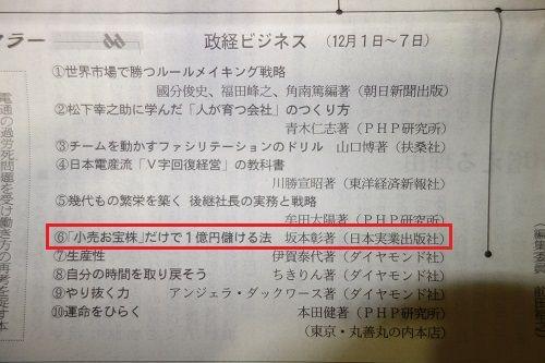 12月18日 日経新聞ブログ用