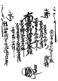 日蓮の密教系譜