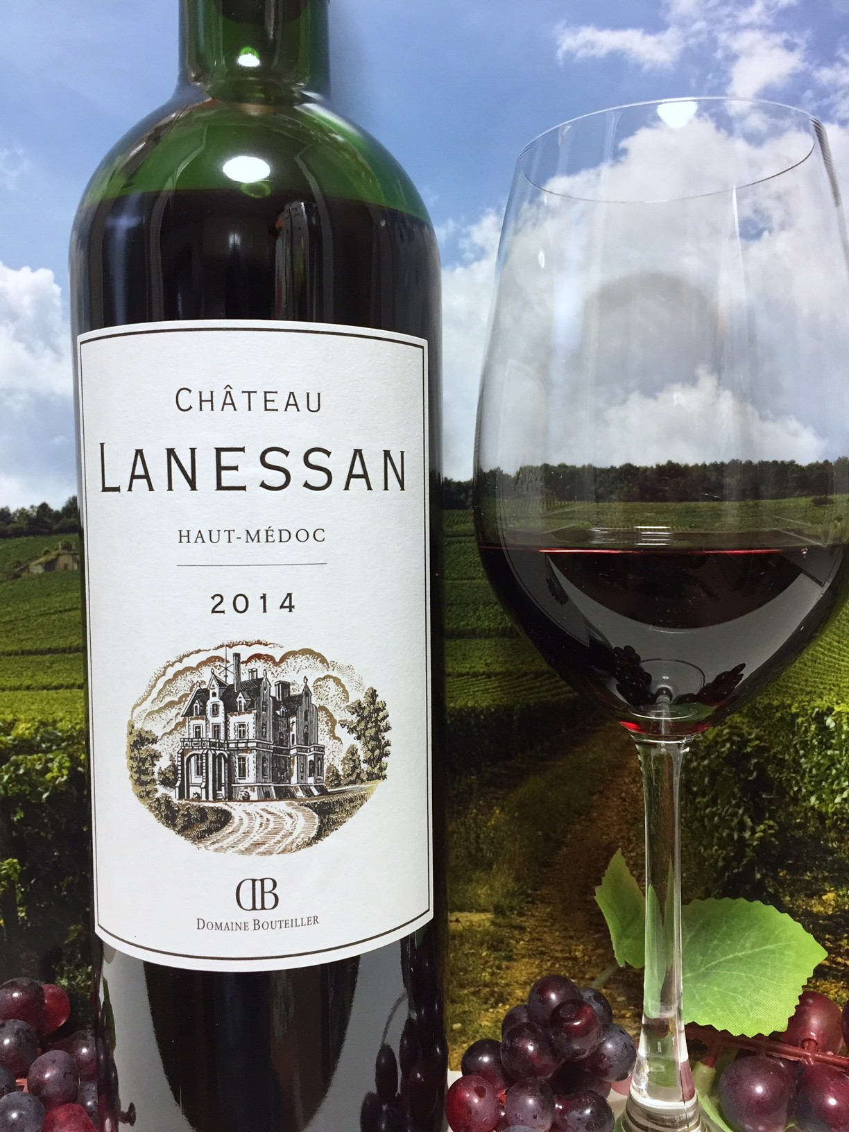 Ch teau lanessan 2014 red red wine for Chateau lanessan