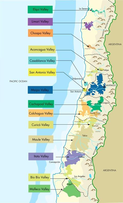 Chilean-Wine-Map