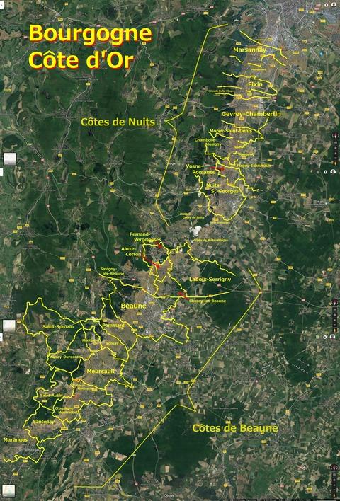 Bourgogne_Cote_dOr_Map