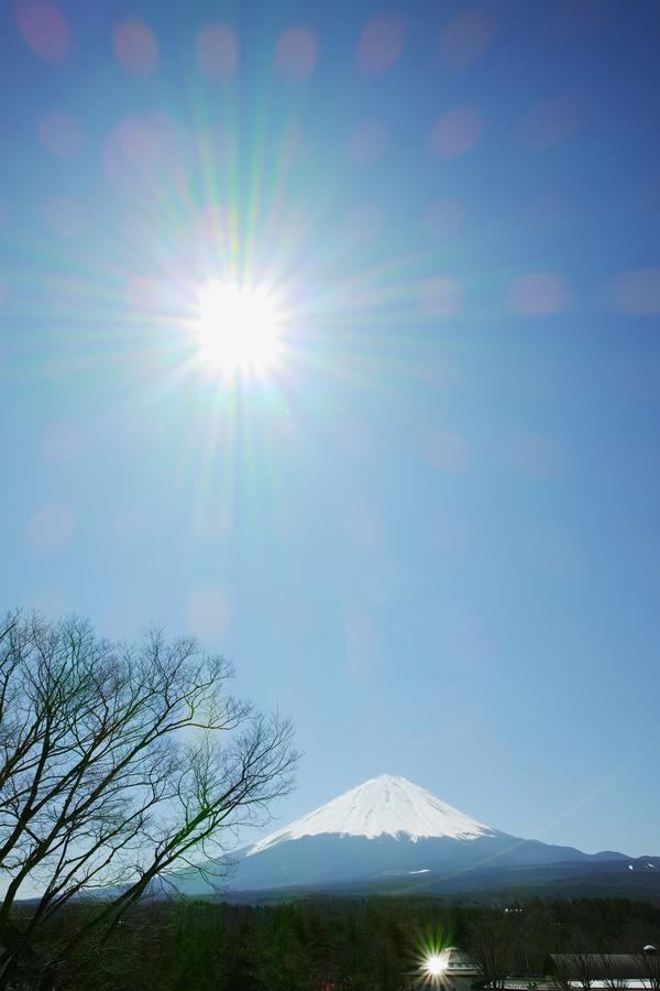 富士と旭日