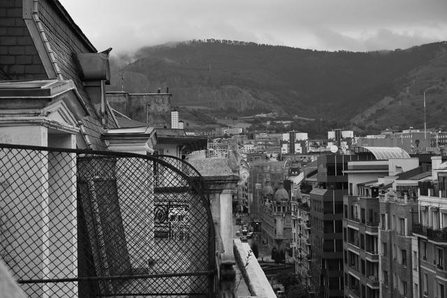 階上の眺め