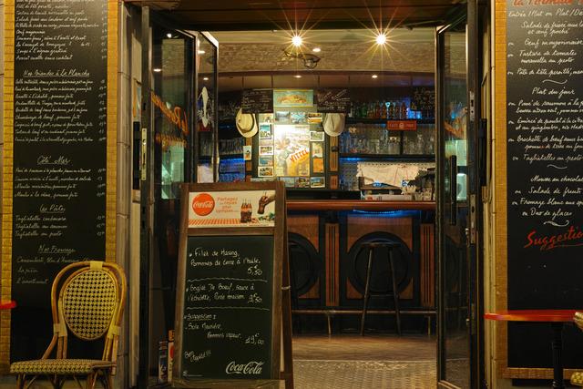 夜バーと夜カフェ