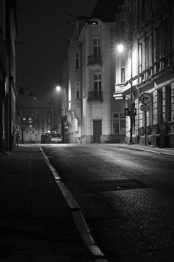 夜道を往けば