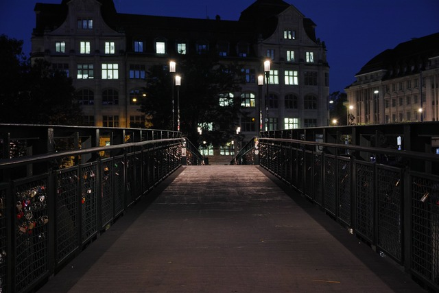 Limmat River at Night