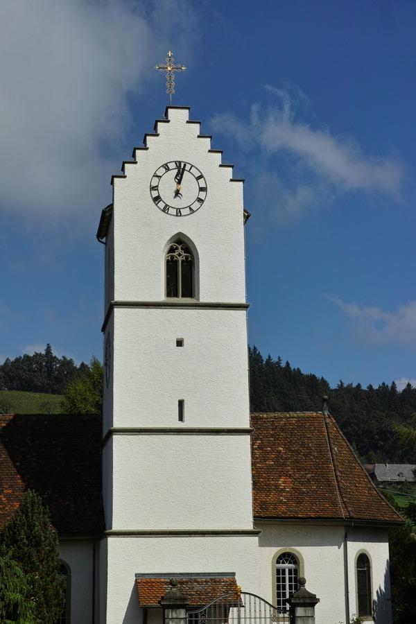 時計台と教会
