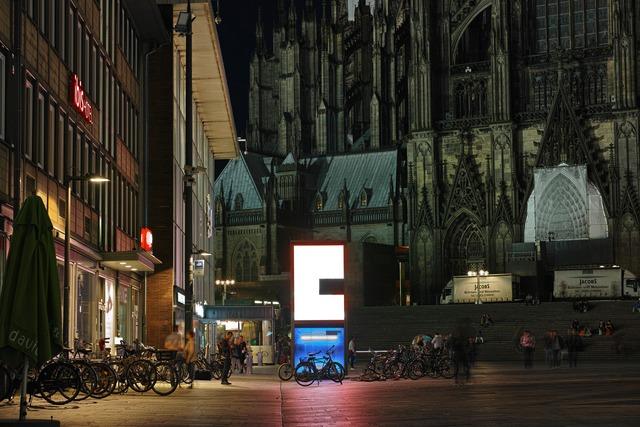 Nacht in Köln(夜のケルン)