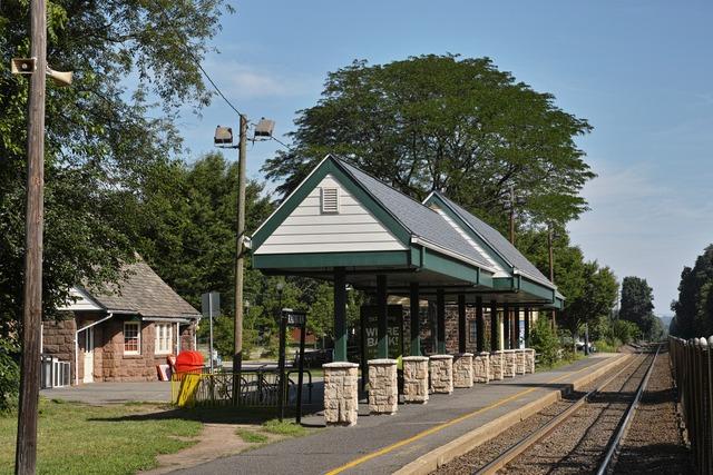 Radburn Train Station