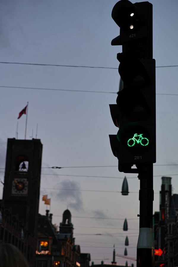 自転車用の青信号