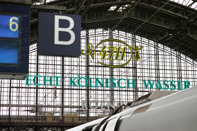 ケルン駅、裏表