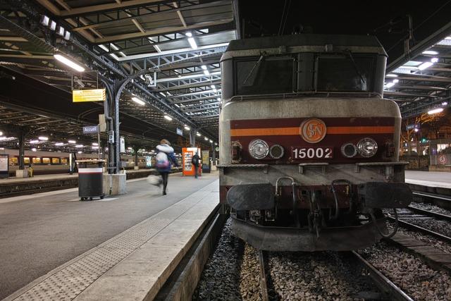 Train in the dark