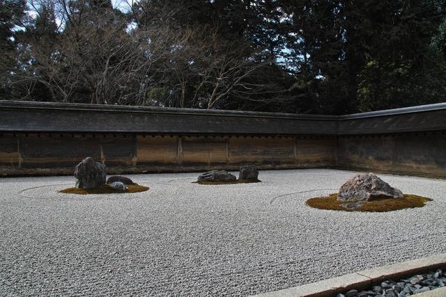 Rock Garden(龍安寺石庭にて)