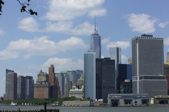 Lower Manhattan View