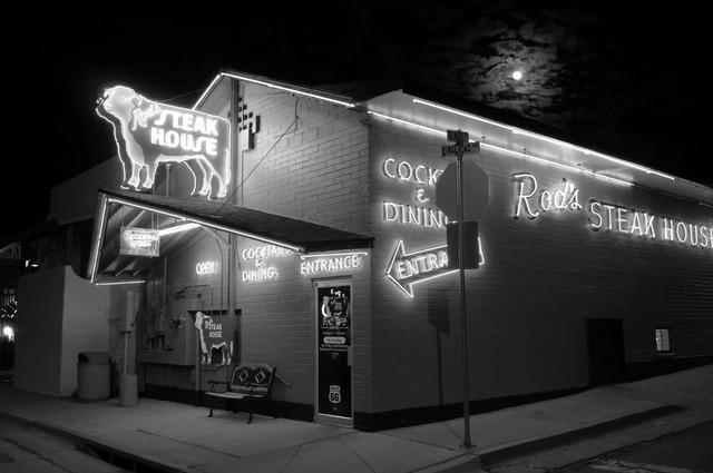 夜更けの Steak House