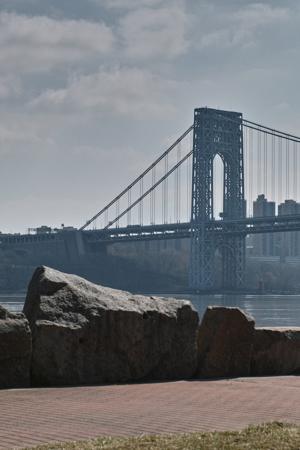 GWB from Ross Dock Picnic Area