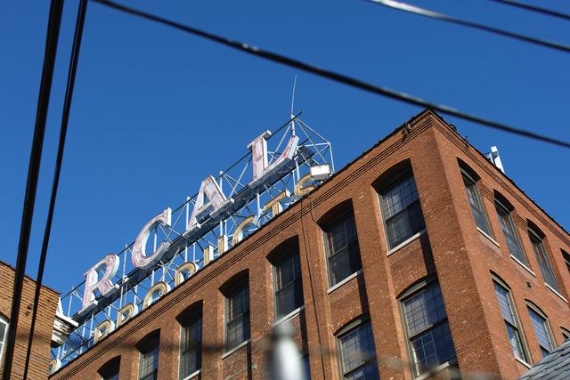 Brick-walled Factory(レンガ造りの工場)