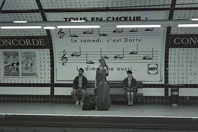 地下鉄の音楽会
