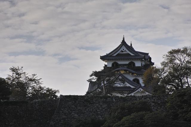 彦根城でAPO 70-300mm F4-5.6 DG MACRO試し撮り