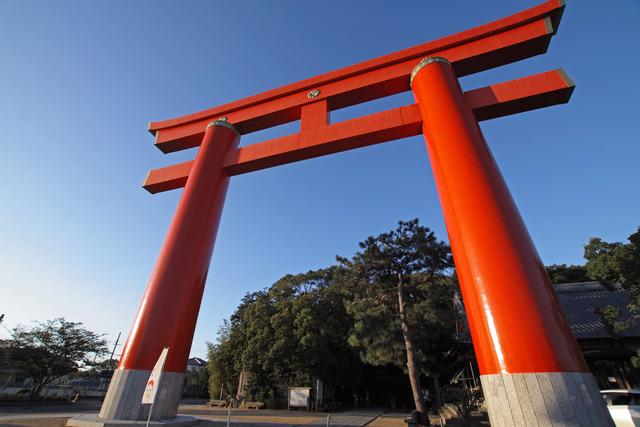 自凝島神社(おのころじまじんじゃ)