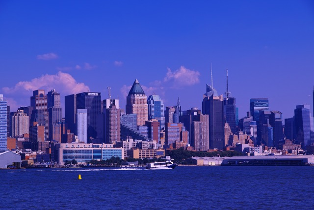 Blue Blue Manhattan