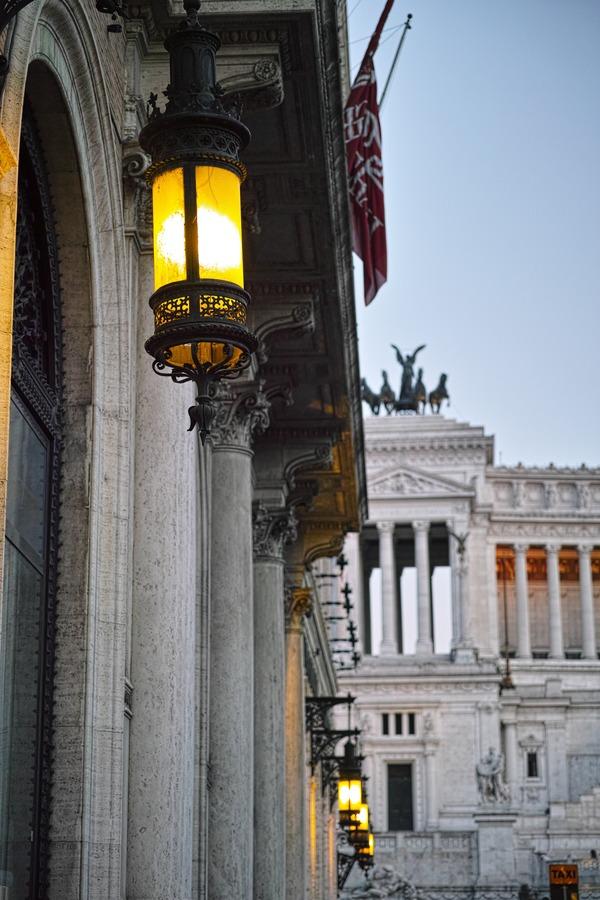 Twilight in Rome