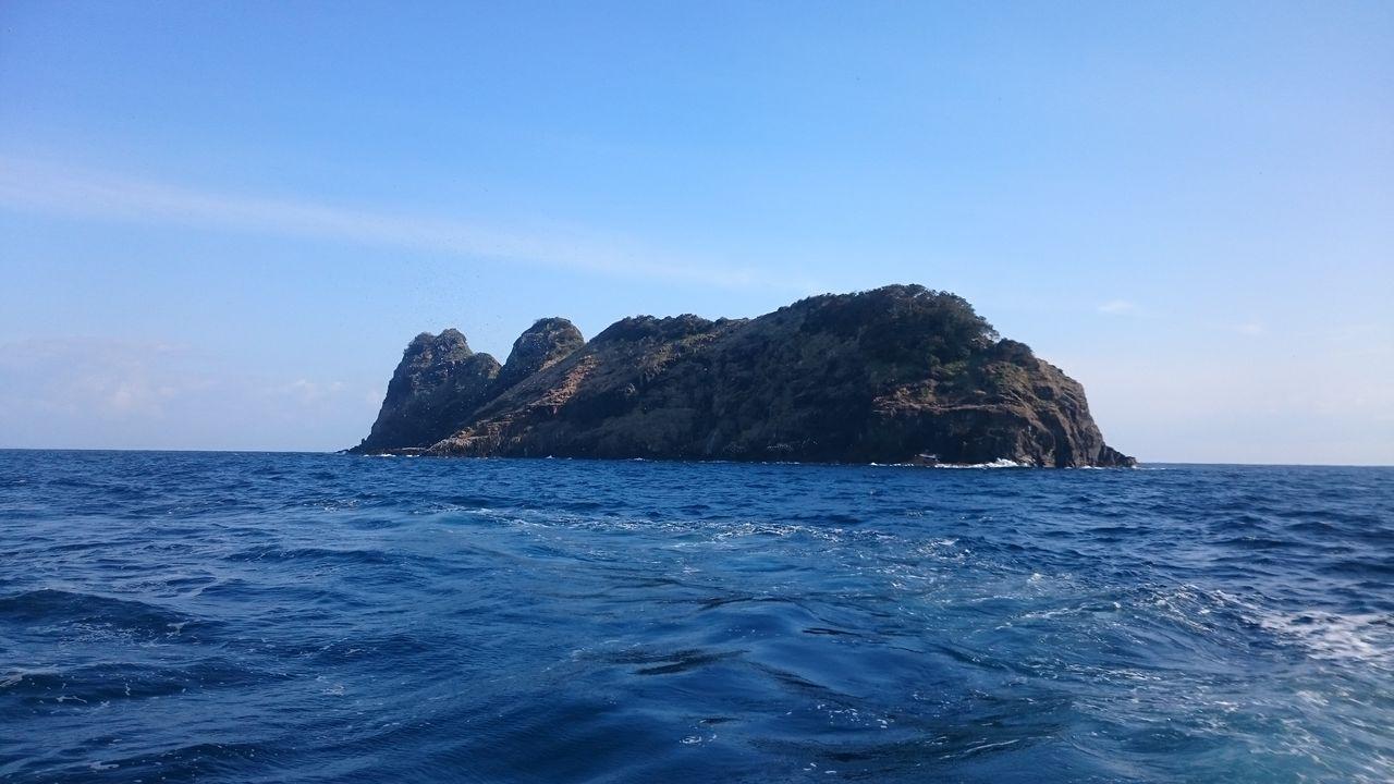 冠島  船フカセ