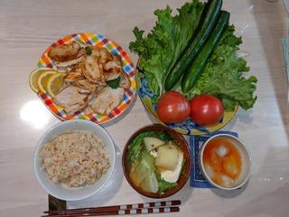 200515  夕食