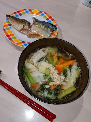 200601 ワンタンスープ