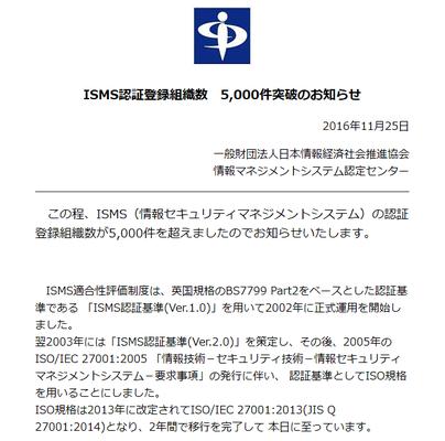 ISMS5000件突破