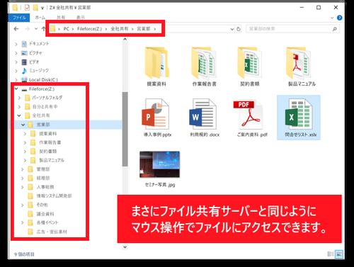 ファイルフォース