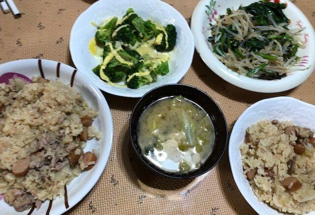 ブロッコリー 炊き込み ご飯
