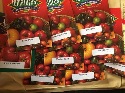 エアルームトマトの品種2017