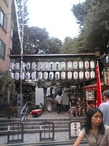 櫛田神社入り口