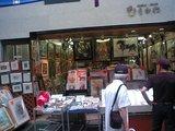 川端通り商店街の画廊