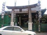 櫛田神社鳥居